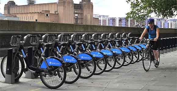bicicletas publicas Londres