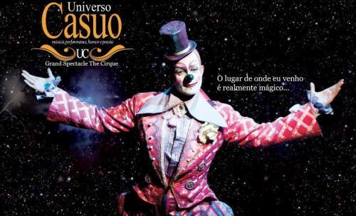 Resultado de imagem para Universo Casuo circo
