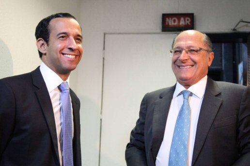 Paulo Alexandre e Geraldo Alckmin