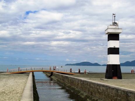 Canal 6, Ponta da Praia, Santos, SP, Brasil