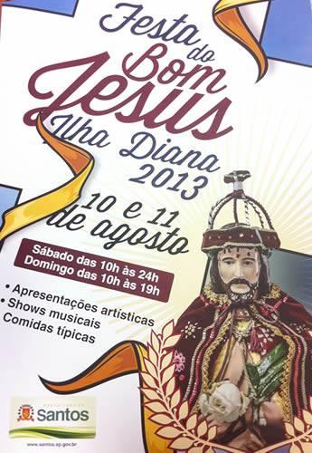 festa bom jesus da ilha diana 2013