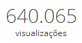640 mil visitas